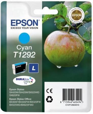 Epson 12924011 Tintapatron Stylus SX420W, SX425W, SX525WD nyomtatókhoz, EPSON kék, 7ml
