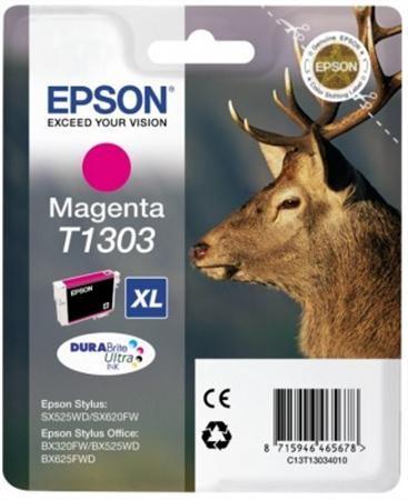Epson 13034010 Tintapatron Stylus 525WD, SX620FW, BX320FW nyomtatókhoz, EPSON vörös, 10,1ml