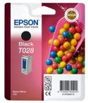 Epson T02840110 Tintapatron Stylus C60 nyomtatóhoz, EPSON fekete, 17ml eredeti