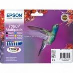 Epson T0807 Patron Multipack 7,4ml (Eredeti) C13T08074011