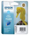 Epson T0485 Patron Light Cyan 13ml (Eredeti)  R200 R220 R300 R300M R320 R340 RX500 RX600 RX620 RX640
