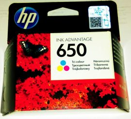 HP CZ102AE ( HP 650 CMY ) EREDETI AKCÓ!! HP patron DeskJet 3545 DeskJet 1015 DeskJet 1515 Deskjet 2510 Deskjet 2515 Deskjet 2516 DeskJet 2545 Deskjet 2645 Deskjet 3345 Deskjet 3515 3545 4515 4645 4675