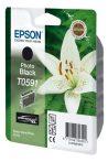 Epson T0591 Patron Photo Black 13ml (Eredeti)   Epson Stylus Photo R2400