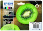 EPSON T02G7 PATRON MULTIPACK 202XL (EREDETI) Termékkód: C13T02G74010 Szín:Black, Matt Black, Cyan, Magenta, Yellow Epson XP-6000 Epson XP-6005 Epson XP-6100 Epson XP-6105