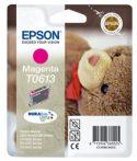 Epson T06134010 Tintapatron Stylus D68, D88, D88PE nyomtatókhoz, EPSON vörös, 8ml Eredeti kellékanyag