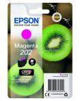 EPSON T02F3 PATRON MAGENTA 4,1ML (EREDETI) Termékkód: C13T02F34010 Epson XP-6000 Epson XP-6005 Epson XP-6100 Epson XP-6105