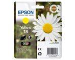 Epson T1804 Yellow 3,3ml Epson XP-30 Epson XP-102 Epson XP-202 Epson XP-205 Epson XP-302 Epson XP-305 Epson XP-402 Epson XP-405  Eredeti kellékanyag