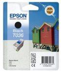 Epson T03614010 Tintapatron Stylus C42, C44, C46 nyomtatókhoz, EPSON fekete, 10ml Eredeti kellékanyag