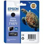 Epson T1571 Patron Black 26ml (Eredeti) Stylus Photo R3000