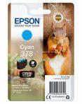 Epson T3782 Patron Cyan 5,5ml 378 (Eredeti)  C13T37824010 Epson XP-8500  XP-8605 XP-15000