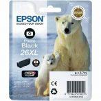 Epson 26 XL Photo Black EREDETI festékpatron T2631 XP510 XP520 XP600 XP605 XP610 XP615 XP620 XP625 XP700 XP710 XP720 XP800 XP810 XP820