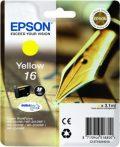 Epson T1624 eredeti festékpatron EXTRA nagy kapacitás WF2010W WF2510WF WF2520NF WF2530WF WF2540WF T1624 4010 Tintapatron Workforce WF2540WF nyomtatóhoz, EPSON fekete, 5,4ml