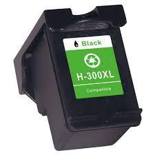 Hp 300XL fekete (CC641EE) utángyártott patron HP300 HP 300