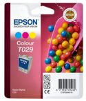 Epson T02940110 Tintapatron Stylus C60 nyomtatóhoz, EPSON színes, 37ml eredeti