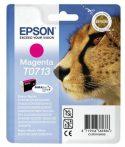 Epson T0713 Tintapatron Stylus D78, D92, D120 nyomtatókhoz, EPSON vörös, 5,5ml Eredeti kellékanyag