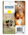Epson T3784 Patron Yellow 5,5ml 378 (Eredeti)  C13T37844010 Epson XP-15000 XP-8000 XP-8605