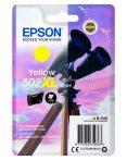 EPSON T02W4 PATRON 502XL YELLOW 6,4ML (EREDETI) Termékkód: C13T02W44010 Epson WorkForce WF-2860DWF  Epson WorkForce WF-2865DWF  Epson XP-5100  Epson XP-5105 Eredeti patron