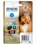 Epson T3792 Patron Cyan 9,3ml 378XL (Eredeti)  C13T37924010 Epson XP-8500  XP-8605 XP-15000