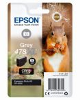 Epson T04F6 Patron Grey 11,2ml 478Xl (Eredeti)  C13T04F64010 XP-15000