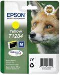 Epson T12844011 Tintapatron Stylus S22, SX125, SX420W nyomtatókhoz, EPSON sárga, 3,5ml S22 Office OfficeBX305F OfficeBX305FW SX125 SX130 SX230 SX235W SX420W SX425W SX430W SX435W SX438W SX440W SX445W