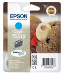 Epson T06124010 Tintapatron Stylus D68, D88, D88PE nyomtatókhoz, EPSON kék, 8ml Eredeti kellékanyag