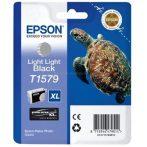 Epson T1579 Patron Light Black 26ml (Eredeti) Stylus Photo R3000