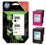 HP CN637E Tintapatron multipack DeskJet D2560 nyomtatóhoz, HP 640/643 b+c, 200+165 oldal