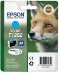 Epson T1282 Tintapatron Stylus S22, SX125, SX420W nyomtatókhoz, EPSON kék, 3,5ml S22 Office OfficeBX305F OfficeBX305FW SX125 SX130 SX230 SX235W SX420W SX425W SX430W SX435W SX438W SX440W SX445W