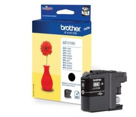 Brother LC121 Tintapatron Bk. eredeti  DCP-J132W / DCP-J152W / DCP-J172W / DCP-J552DW / DCP-J752DW / MFC-J245/MFC-J470DW / MFC-J650DW / Brother MFC-J870DW MFC-14700DW