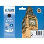 Epson T70314010 Tintapatron Workforce Pro 4000, 4500 sorozat nyomtatókhoz, EPSON fekete, 24 ml Eredeti kellékanyag