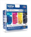 Brother LC1100 Multipack (Black, Cyan, Magenta, Yellow) eredeti tintapatron DCP-585CW, DCP-385C, DCP-6690CW, MFC6490 LC980 / LC1100 LC 980 / LC 1100 LC-980 / LC-1100