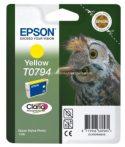 Epson T0794 Patron Yellow 11ml (Eredeti) C13T07944010
