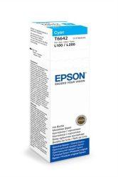 EPSON Patron L100/L110/L200/L210/L300/L355/L550/L1300 70ml, cián eredeti